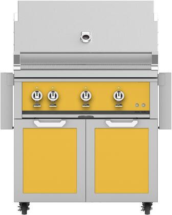 Hestan  851420 Liquid Propane Grill Yellow, Main Image