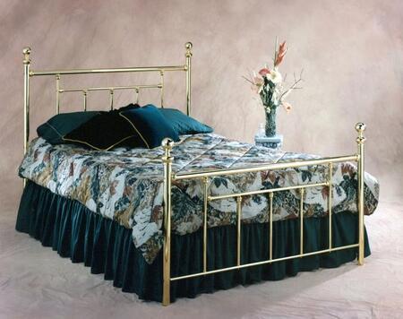 Hillsdale Furniture Chelsea 1038BQR2 Bed Gold, 1