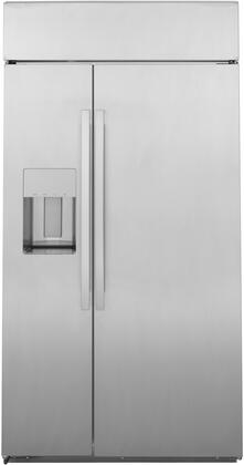 GE Profile PSB48YSNSS Side-By-Side Refrigerator Stainless Steel, PSB48YSNSS Stainless Steel Side by Side Refrigerator