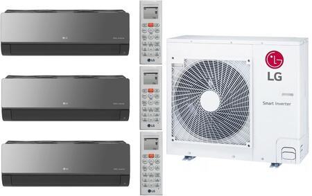LG 962539 Triple-Zone Mini Split Air Conditioner, Main Image
