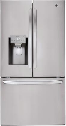 LG  LFXS26973S French Door Refrigerator Stainless Steel, Main Image