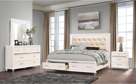 Global Furniture USA Global Furniture USA SOFIAWHQBDMNS Bedroom Set White, products global furniture color sofia  1131074325 5 sofia wh kb b9