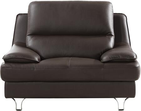 American Eagle Furniture EK-B109 EKB109DCCHR Living Room Chair Brown, Main Image