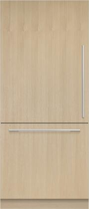 Fisher Paykel  RS36W80LJ1N Bottom Freezer Refrigerator Panel Ready, Front View
