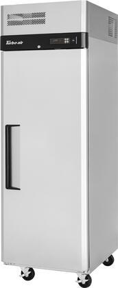 Turbo Air M3 Series M3R191N Reach-In Refrigerator Stainless Steel, M3R191N Angled View