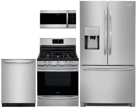 Frigidaire 988250 4 piece Stainless Steel Kitchen Appliances Package