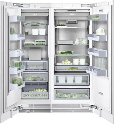 Gaggenau Deals 400 Series 1357404 Column Refrigerator & Freezer Set Panel Ready, Main image