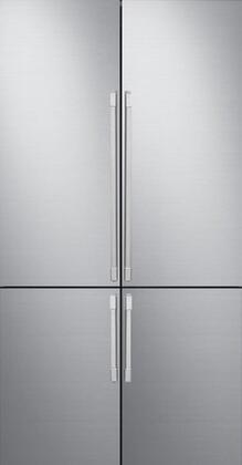 Dacor RAT42AHAASR Door Panel, RAT42AHAASR Pro Silver Stainless Steel 4 Door Kit
