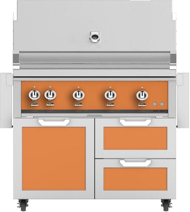 Hestan  851691 Liquid Propane Grill Orange, Main Image