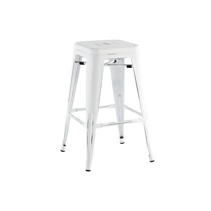 Design Lab MN Dreux LS9102WHTBLK Bar Stool White, 7c1a677e 0ad8 429f 8ff5 f15dffe10206