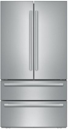 Bosch 800 Series B21CL81SNS French Door Refrigerator Stainless Steel, Main View