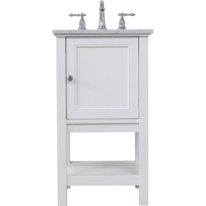 Elegant Decor Metropolis VF27019WH Sink Vanity White, VF27019WH