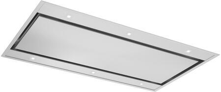 Forte VERTICE48 Ceiling Mount Range Hood Stainless Steel, VERTICE48 Ceiling Hood