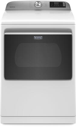 MED7230HW 27″ Smart Electric Dryer with 7.4 cu. ft. Capacity  Wrinkle Control  Sanitize Cycle  Steam Refresh  in