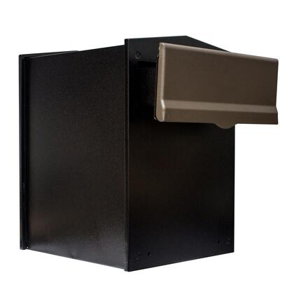 LIB-BRZ-LM6-46 Liberty Rear Access Collection Box with Bronze Letter Plate and 4″ to 6″ Adjustable