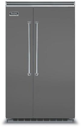 Viking 5 Series VCSB5483DG Side-By-Side Refrigerator Slate, VCSB5483DG Side-by-Side Refrigerator