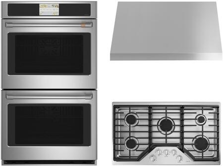 Cafe  1107773 Kitchen Appliance Package Stainless Steel, Main image