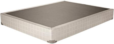 Coaster 2017 Foundations 350046Q Stationary Bed Frames White, Foundation