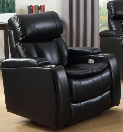 Acme Furniture Ronnette 53941 Loveseat Black, 1