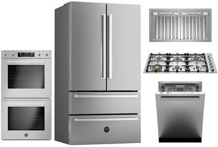 Bertazzoni  1054792 Kitchen Appliance Package Stainless Steel, Main image