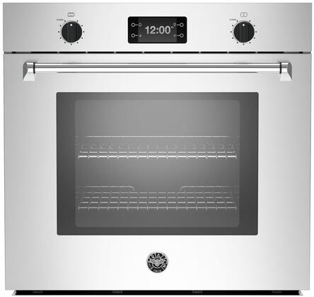 Bertazzoni Master MASFS30XT Single Wall Oven Stainless Steel, MASFS30XT 30 Single Convection Oven