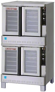 Blodgett Zephaire ZEPH200GESDBL Commercial Convection Oven Stainless Steel, Main Image