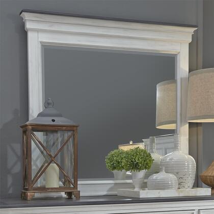Liberty Furniture Allyson Park 417BR52 Mirror White, 417 br52 1