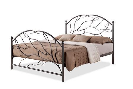 Wholesale Interiors  LEN3081QUEENBLACKSEAGOLD Bed , LEN3081 Queen Black%20Sea%20Gold 1