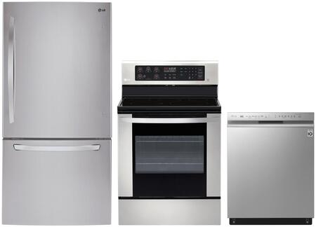 LG 1130824 Kitchen Appliance Package & Bundle Stainless Steel, main image