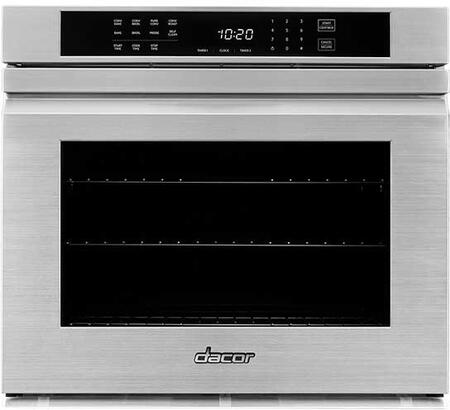 Dacor Heritage HWO127FS Single Wall Oven Stainless Steel, Main Photo