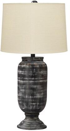 Signature Design by Ashley Mandelina L207414 Table Lamp Black, Main image