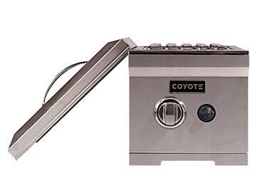 Coyote C1CSBXX Side Burner Stainless Steel, Single Side Burner Main Image