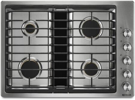 Jenn-Air JGD3430GS Gas Cooktop Stainless Steel, JGD3430GS 30-Inch JX3 Gas Downdraft Cooktop