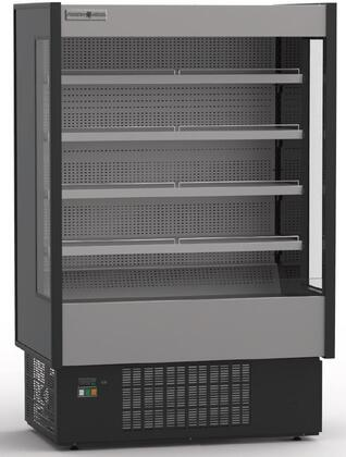 KGH-OF-100-S 100″Grab-N-Go High Profile Case with 58.2 cu. ft. Capacity  CFC Free Injected Foam Insulation and Height Adjustable Shelves in
