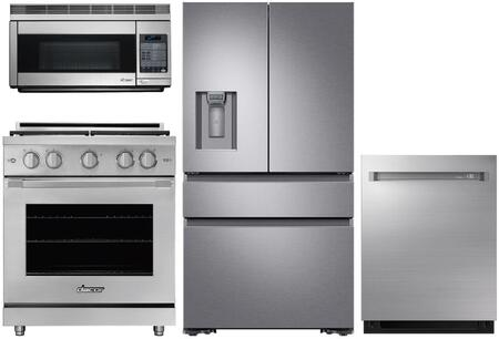 Dacor  1260294 Kitchen Appliance Package Stainless Steel, Main image