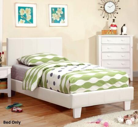 Furniture of America Winn Park CM7008WHTBED Bed White, 1
