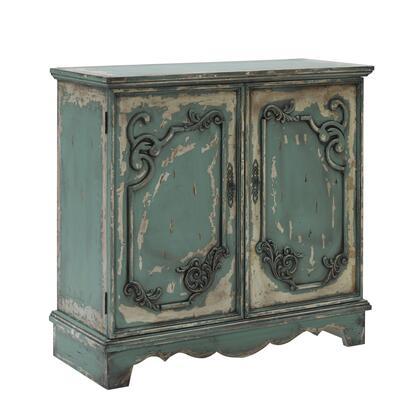 Progressive Furniture Belle A79673G Cabinet Green, MainImage