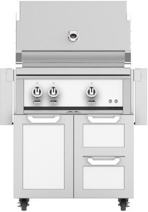 Hestan  852481 Liquid Propane Grill White, Main Image