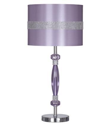 Signature Design by Ashley Nyssa L801524 Table Lamp Purple, Main Image