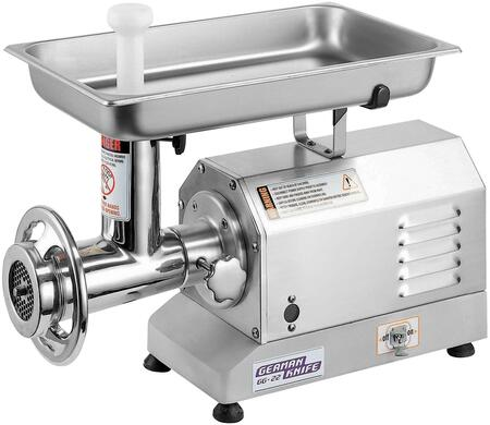 GG-22 13″ Heavy Duty Meat Grinder with 1.5 HP  Gear Drive and Stainless Steel Food Contact Zone in Stainless