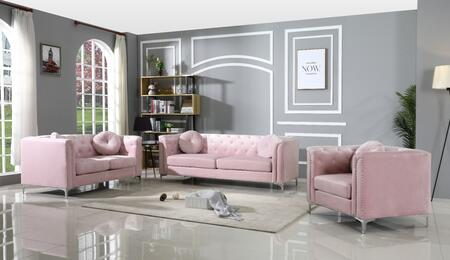 Glory Furniture Pompano G894ASET Living Room Set Pink, G894ASET Living Room Set