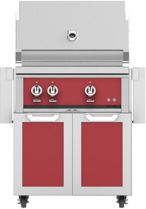 Hestan  852017 Liquid Propane Grill Red, Main Image