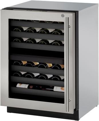 U-Line Modular 3000 U3024ZWCS15B Wine Cooler 26-50 Bottles Stainless Steel, Main Image