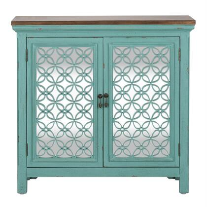 Liberty Furniture Kensington 2011AC3836 Cabinet Blue, 2011-AC3836 front view