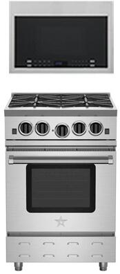 BlueStar 851068 Kitchen Appliance Package & Bundle Stainless Steel, 6