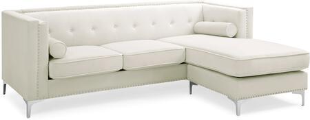 Glory Furniture Capua G0347BSC Sectional Sofa White, G0347BSC Main Image