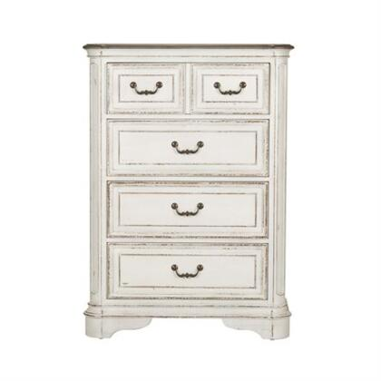Liberty Furniture Magnolia Manor 244BR40 Chest of Drawer White, Main