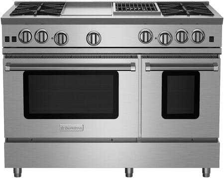 BlueStar RNB Series RNB484GCBV2 Freestanding Gas Range Stainless Steel, RNB484GCBV2 RNB Series Range