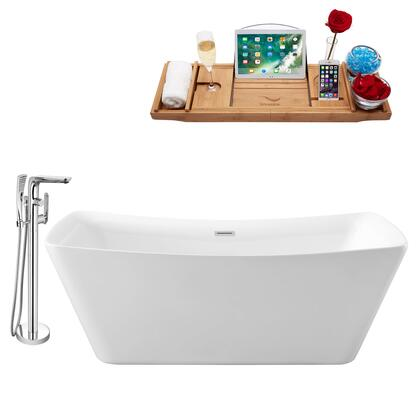 Streamline NH540120 Bath Tub, NH540 120 1T