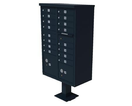 Qualarc CBU16BL Mailbox Accessories, CBU 16 BL